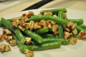 Sarah Fowler - Toasted Pecan and Green Bean Salad with Dijon Dressing