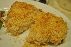 Sarah Fowler - parmesan crusted dijon chicken